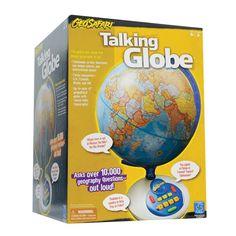 Amazon.com: Educational Insights Geosafari Talking Globe: Toys & Games