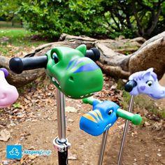 Scootaheadz to ozdoba na drążek hulajnogi Mini Micro albo Maxi Micro. #aktywnysmyk #warszawa #minimicro #maximicro #hulajnoga #ozdoba #scootaheadz #dino Micro Kickboard, Kids Scooter, Neon Rainbow, Ride On Toys, Streamers, Make It Yourself, Cool Stuff, Instagram Posts, Fun