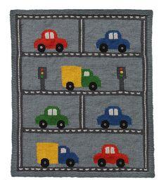 Free Knitting Pattern L32281 Traffic Throw : Lion Brand Yarn Company