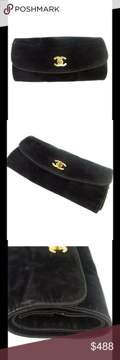 Authentic Chanel Clutch / cosmetic pouch This beautiful Chanel clutch is a must have, it is sure to compliment any look no matter the occasion. It's perfect for days where you prefer to travel light. CHANEL Bags Clutches & Wristlets