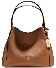 COACH EDIE SHOULDER BAG. Just bought this beauty....love it. Love Coach!