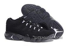 """8d6213e07a8714 Mens Air Jordan 9 Low """"Anthracite"""" For Sale Authentic SFahPzD"""