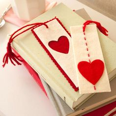 heart bookmark valentines gift 2