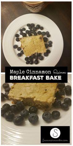 maple-cinnamon-quinoa-breakfast-bake-pin #weightlosstips