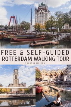 Free & Self-Guided Rotterdam Walking Tour – Honeymoon Visit Amsterdam, Amsterdam Travel, Places To Travel, Travel Destinations, Places To Go, Travel Europe, Rotterdam Netherlands, The Neighbor, To Infinity And Beyond