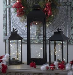Candles, string lights and lanterns, oh my! Find the perfect way to add some holiday glow to your home with our variety of pre-lit lights!
