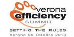 Il 9 ottobre a Verona è previsto l'#EfficiencySummit. Partecipa anche tu al primo forum internazionale sulla'#efficienzaenergetica http://ow.ly/oWLKl#Smartenergy