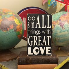 Do Small Things Little