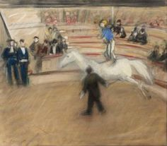 Max Slevogt - Der Zirkus