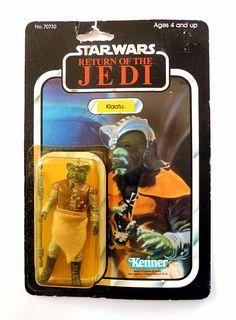 KLAATU 1983 Return of the Jedi STAR WARS Action Figure 77 Back