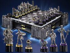 Awesome Batman Chess Set