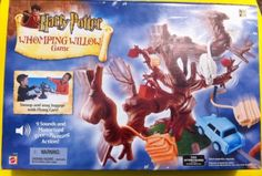 HARRY POTTER WHOMPING WILLOW GAME BY MATTEL UNOPENED!! (2002)