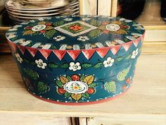 Os style oval shaker box by RusticRoseArt on Etsy