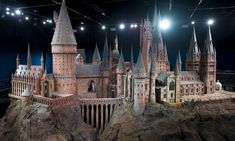 Harry Potter and the film-makers' magic: Incredibly detailed model of Hogwarts Castle used for every film in blockbusting series is revealed...
