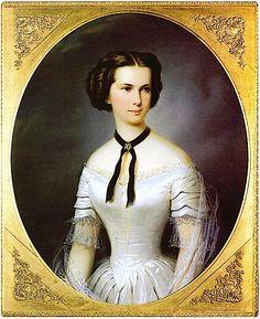 Kaiserin Elisabeth von Österreich 1854