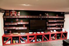 When Gamers Decorate: 7 Awesome Video Game Rooms | Mental Floss