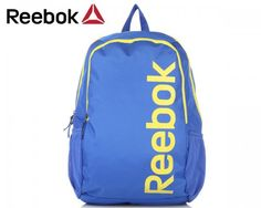 Whether you're going to work, school or college, a good backpack does wonders for your life.   Store all your worldly possessions in this smart Reebok backpack and have them protected from the elements, predators and pretty much everything else.  Brand: Reebok Type: Backpack Material: Polyester Waterproof: Yes Colour: Blue with yellow accents Dimensions: 35 cm  x 17 cm x 48 cm (length x width x height)