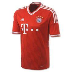2371880432593 13-14 cheap Bayern Munich Home Jersey Kit Camisetas