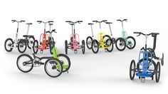 Kiffy, le mini tricycle cargo design de Norbert Peytour