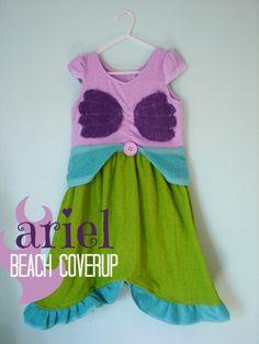Ariel beach cover up