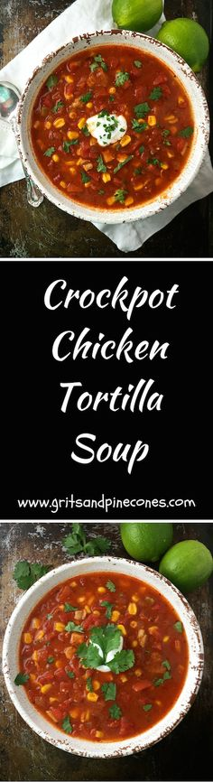 This delicious, nutritious, and easy-to-make soup comes in at only 349 calories and is a great way to start your weight loss journey. via @http://www.pinterest.com/gritspinecones/