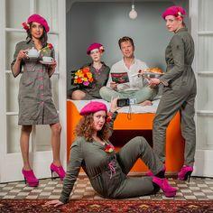 StoereVrouwen organiseren eerlijk ontbijtje voor acteur Roel Fooij    Foto: RvH Foto