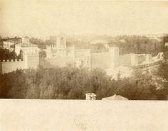 1870 Tuminello Ludovico . Breccia di porta Pia, panorama da villa Patrizi.