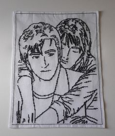 RYO SAEBA ET XIANG-YING (ANGEL HEART ) Angel Heart, Coloring Pages, Cross Stitch