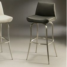 "Degorah 26"" Swivel Bar Stool with Cushion"