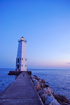 Frankfort Lighthouse Michigan