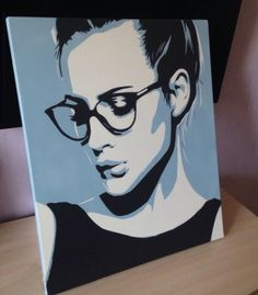 Pop Art Portraits, Portrait Art, Art Drawings, Art Sketches, Silhouette Art, Arte Pop, Stencil Art, Anime Art Girl, Art Pictures