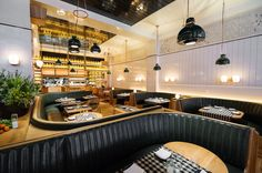 Cal-Ital Brasserie in the Flatiron