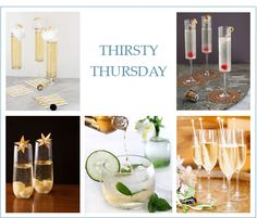 Thirsty Thursday: Perfect Oscar Party Champagne Cocktails