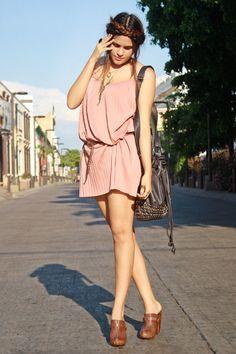 Pink Pink Pull Dress