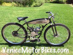 1950 Schwinn, Motorized Bicycle, Piston Bike, Motored, Moped, Board Track Racer, Vintage Bike, Motorbike, Bicycle Engine, Replica Motorcycle, Rat Rod, Ratrod, Lowrider, Low Rider, Bobber, Chopper, Cruiser, Motor Bike, Cafe Racer