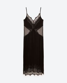 SHEER CAMISOLE DRESS