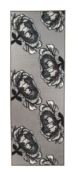 Vallila Interior AW14, Isadora rug grey 80x230cm