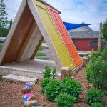 Build an outbuilding or playhouse from FREE DOORS- plans HERE too…. | Tiny House Living