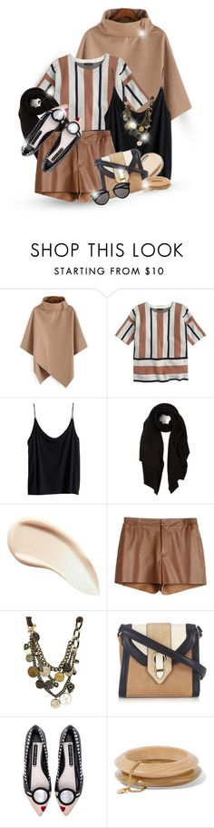"""""""Through Thick and Thin"""" by fallas-celeste1893 ❤ liked on Polyvore featuring J.Crew, H&M, Cash Ca, Burberry, Raoul, Wallis, Alice + Olivia, Ben-Amun and Yves Saint Laurent"""