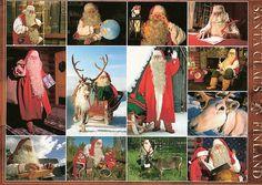 Suomi Finland - Lappi Lapland, Santa