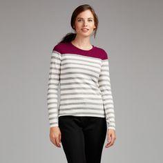 Colourblock Stripe Jumper