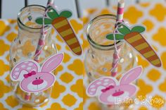 Hoppy Easter Bunny Glasses