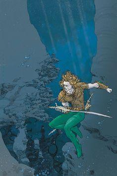 Aquaman by Mario Alberti