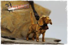 Beagle, Sterling Silver Pendants, Bronze, Sculpture, Mini, Dogs, Animals, Self, Animales