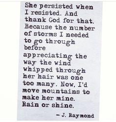 J Raymond- I love this