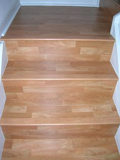 Beautiful Stairs Going Into Familyroom.