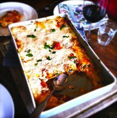 Geweldige cannelloni met spinazie en ricotta via @madebyellen