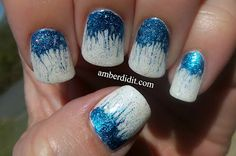 This girl is amazing! Needle Nails