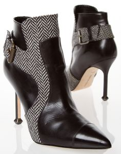 MANOLO BLAHNIK BOOTS @Michelle Flynn Flynn Coleman-HERS