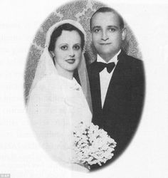 Foto do casamento dos pais do Papa Francisco